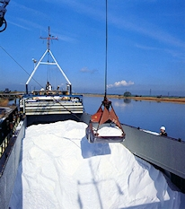 Loading Dolomite at the Docks