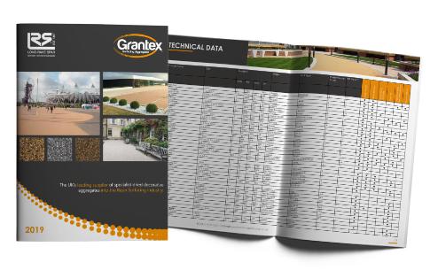 Grantex Surfacing Range Brochure