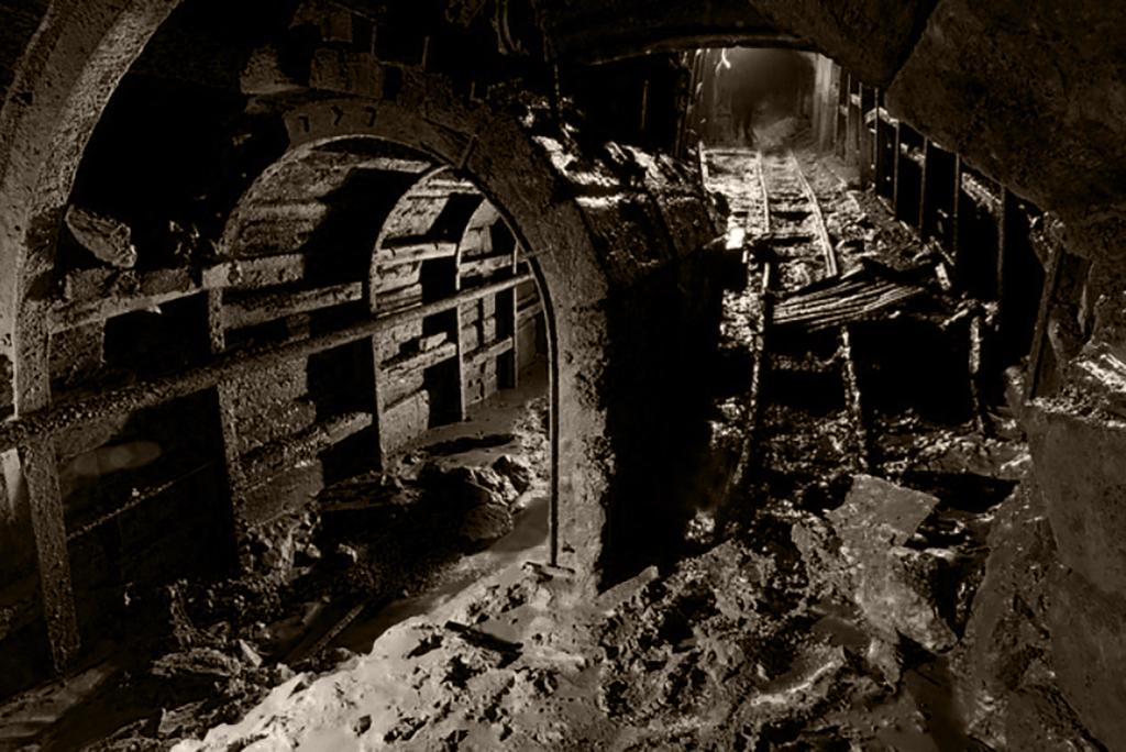 Long Rake Spar Mine Shafts