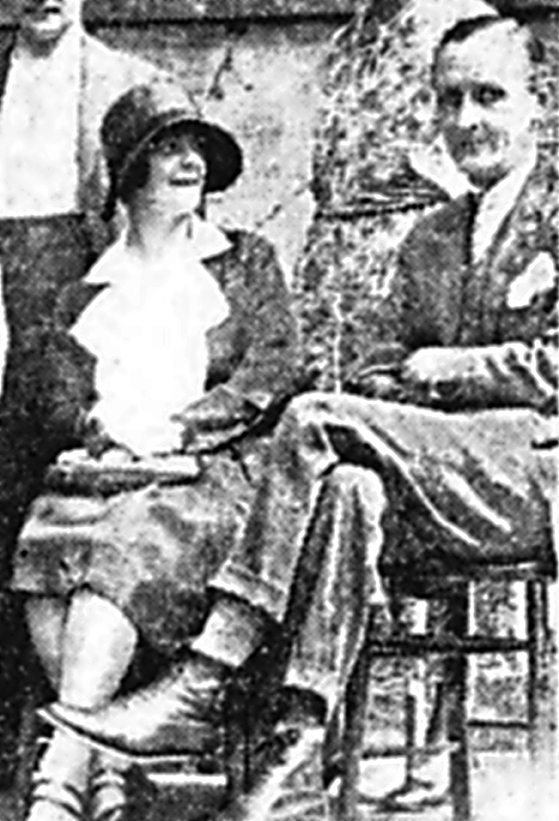 Percy Potter and his wife Mrs Potter